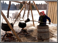 Sugar Bush - Kings Landing, New Brunswick
